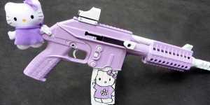 Las armas son infantiles ahora
