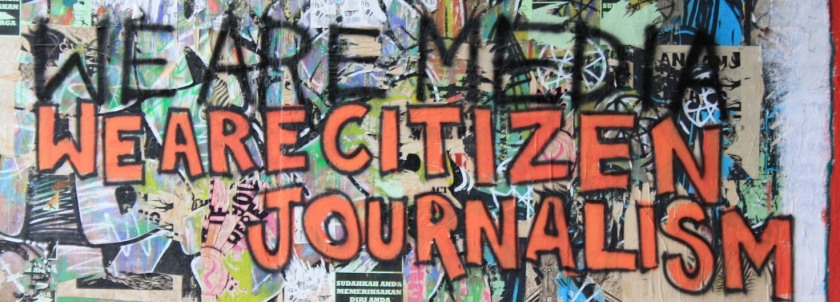 We are citizen journalism