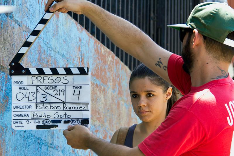 Natalia Arias se prepara--Foto La Nación